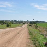Впереди деревня Рига