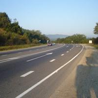 трасса у Пятигорской