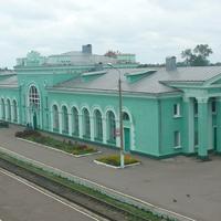 Льговский вокзал 2012год.