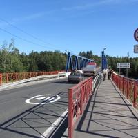 Мост, река Вуокса