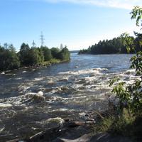 Бурная река Вуокса