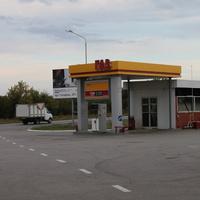 Люботин. Газозаправочная станция.