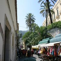 Пальмы на улицы Таормины