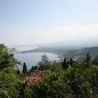 Вид с амфитеатра