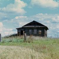 клуб деревни Ступники (конец 70х годов)