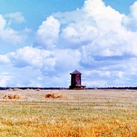 Старая мельница у деревни Ступники (70е годы)