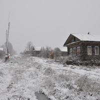 Первый снег в октябре 2010года.