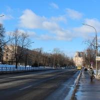 Улица Володарского в марте