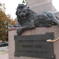 Полтава. Памятник полковнику Келину.