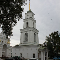 Полтава. Колокольня Свято-Успенского кафедрального собора.