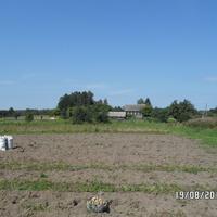 Вид на дом, в котором еще живут