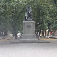 Полтава. Памятник Н.В. Гоголю.