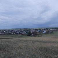 Вид на Имангулово 2-е с Родниковой горы.