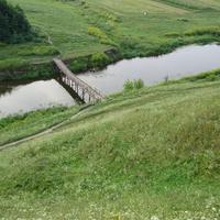 краєвид села Путринці з пагорба