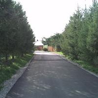 въезд в поселок с ул.Школьной