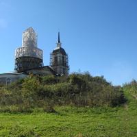 церковь Троицы Живоначальной в селе Хвалово