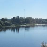 церковь Троицы Живоначальной и Модеста патриарха Иерусалимского на реке Волхов