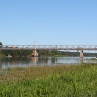 Иссад, мост на реке Волхов