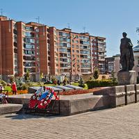 Мемориал в честь советских воинов