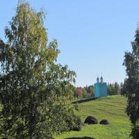 Дудачкино, часовня во имя святых воинов, благословленных Сергием Радонежским на битву в войске Дмитрия Донского