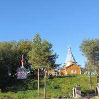 Дудачкино, церковь и часовня Михаила Архангела