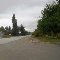 Вьезд в Лановцы со стороны Тернополя