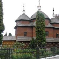 Деревянная церковь Св. Иоанна Крестителя в Городке.