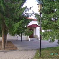 Омский государственный литературный музей имени Ф.М. Достоевского (со стороны двора)