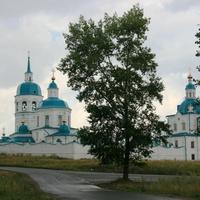 Енисейск. Спасо - Преображенский мужской монастырь.