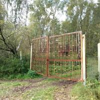 Ворота пионерского лагеря Дружба