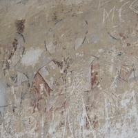 Фрески внутри Сентинского храма