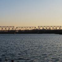 Железнодорожный мост через р. Днепр