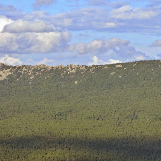 Вершины Таганая.