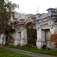 Енисейск Красноярского края. Старинные ворота.