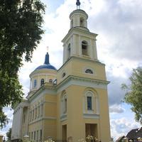 Колокольня церкви Воскресения  Словущего