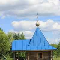 Часовня с купелью на источнике ( 500 метров от храма)