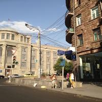 Пересечение улиц Абовяна и Корьюни