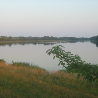 озеро Долгое вблизи д. Глыбочка