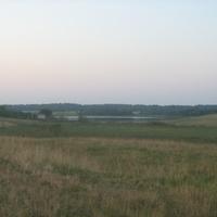 Вид с дороги на озеро Рукшанское
