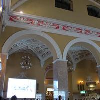 Харьков. Интерьер железнодорожного вокзала.