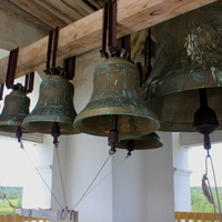 Звонница храма.