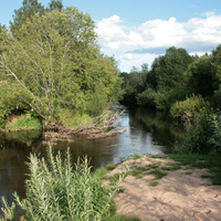 Река Люта (дубок)