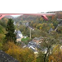 Люксембург, вид на старый город