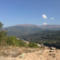 Вид на Дилижан со стороны Шамахяна