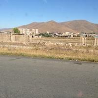 Вид на город со стороны дороги