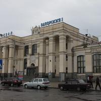 Запорожье. Железнодорожный вокзал.