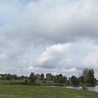 Вид д.Ковали со стороны озера