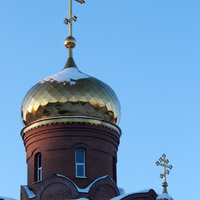 Рефтинский, 2013 г. Церковь Державной иконы Божией Матери