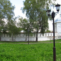 Стена Богородице-Рождественского мужского монастыря