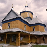 С.Нижнє Синьовидне.Церква Успіння Богородиці.